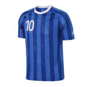 adidas阿迪达斯男装短袖T恤2017新款足球运动服AZ9712