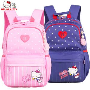 HelloKitty凯蒂猫儿童中小学生书包女童减负双肩休闲书包DL87050