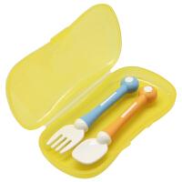 【当当自营】Pigeon贝亲 亲子宝宝叉勺组 DA55 贝亲洗护喂养用品 宝宝餐具/婴儿餐具/儿童餐具