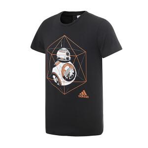 adidas阿迪达斯男装短袖T恤2017新款运动服BK2839