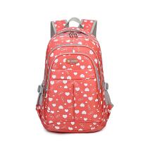 智尔娜2016新款韩版印花双肩包女 糖果色户外旅行包中学生书包女包
