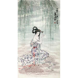 薛林兴《美若天仙》中美协理事