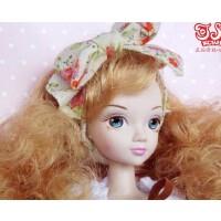 芭比可儿娃娃 时尚女孩酷帅碎花 女孩大礼盒6081