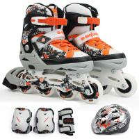 奥得赛溜冰鞋B2-098 儿童鞋套装(含护具头盔) 直排轮滑鞋旱冰鞋