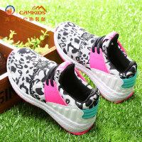 camkids小骆驼童鞋女童运动鞋春季2017新款男童鞋中小童儿童跑鞋