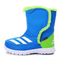 adidas阿迪达斯童冬季新品男婴童0-4岁高帮雪地靴AQ2603